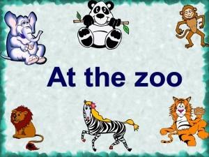 О животных в картинках на английском