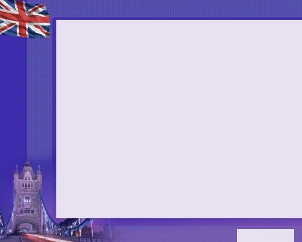 Шаблон для презентации Англия